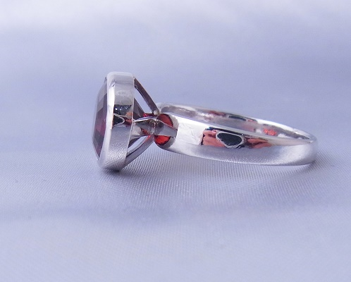 K様のご注文~ガーネットの指輪