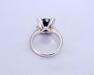 サファイヤ ダイヤモンド リング