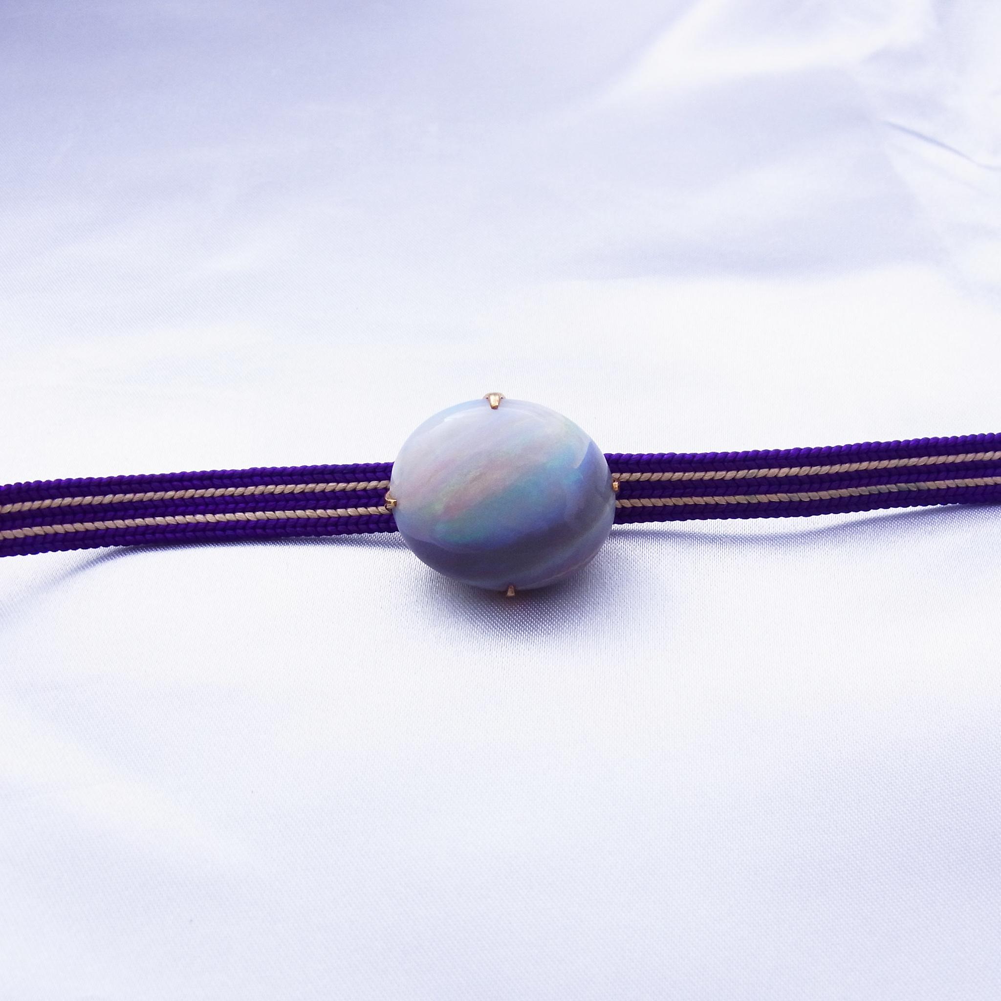 帯留めを、指輪とネックレスにリフォームしました